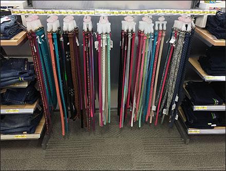 27 Belts Bar Hook Merchandised Main