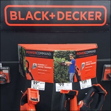 Black & Decker Lawn & Garden Dalek Display Front2