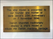 Dane Decor Ship Model 3