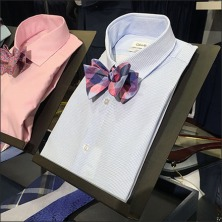 Dress Shirt Bow Tie Easels Feature