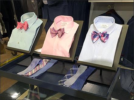 Dress Shirt Bow Tie Easels Main