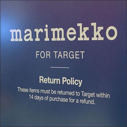 Marimekko Return Policy Feature