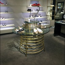 Prada Coil Table Display 1