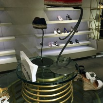 Prada Coil Table Display 3