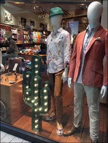 Robert Graham Window Cactus 1