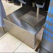Stainless Steel Pedestal 2