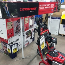 Troy-Bilt Power Washer Sign Stands 1