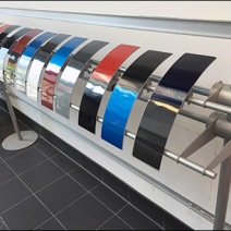Auto Paint Color Sampler Rack 1