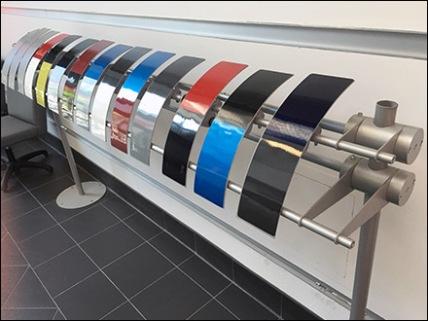 Auto Paint Color Sampler Rack 1