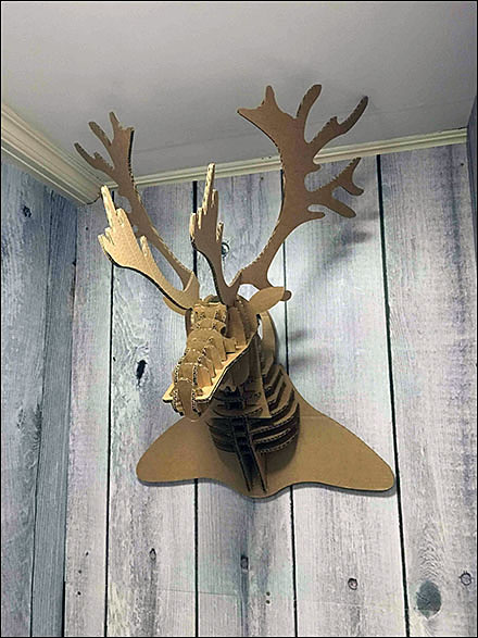 Corrugated Moose Overall