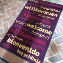 Dane Decor Welcome Mat Angled 1