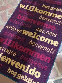 Dane Decor Welcome Mat Angled 2