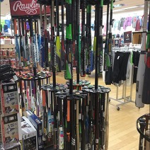 Easton Baseball Bat Rack 1