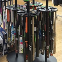 Easton Baseball Bat Rack 2