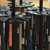 Easton Baseball Bat Rack 3