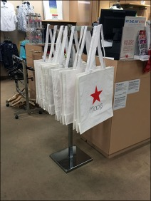 Macys Branded Canvas Tote Dispenser 1