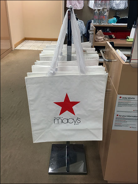 Macys Branded Canvas Tote Dispenser Main
