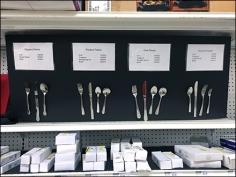 Main Source Cutlery Table Setting Display 1