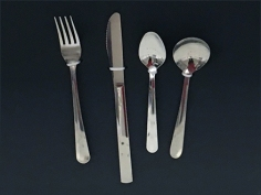 Main Source Cutlery Table Setting Display 3