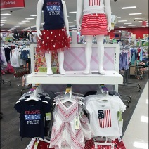 Patriotic Apparel for Girls 1