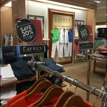 Ralph Lauren Branded Sale Sign Holders 0