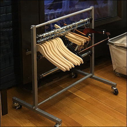 Ralph Lauren Minimalist Clothes Hanger Rack Feature
