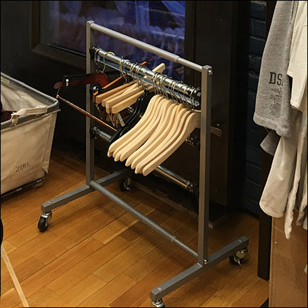 Ralph Lauren Minimalist Clothes Hanger Rack Square 1