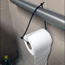 Restroom Toilet Paper Zip Tie 3