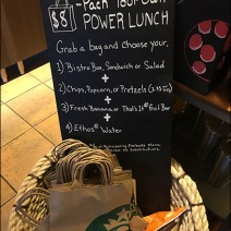 StarBucks Grab-N-Go Power Lunch Assortment 2