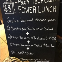 StarBucks Grab-N-Go Power Lunch Assortment 3