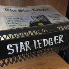 StarBucks Top-Dog Newspaper Display Rack Feature
