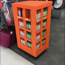 Summer Insect Repellent Orange Corrugated Display 1