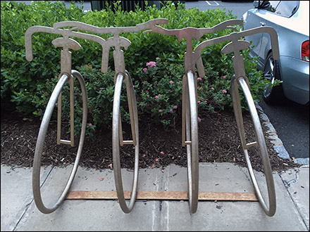 Unicycle Bicycle Rack Main
