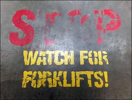Watch For Forklifts On LSD Acid