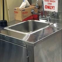 Wegmans Portable Hand Wash Sink 3