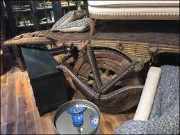 Arhaus Indian Cart Propping 2