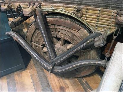 Arhaus Indian Cart Propping 3