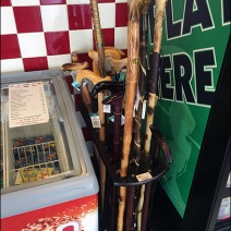 Cane and Walking Stick Display 2