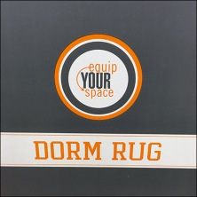Dorm Rug Equip Your Space Pallet Display Feature