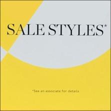 End of Season Sale Styles 50% Off