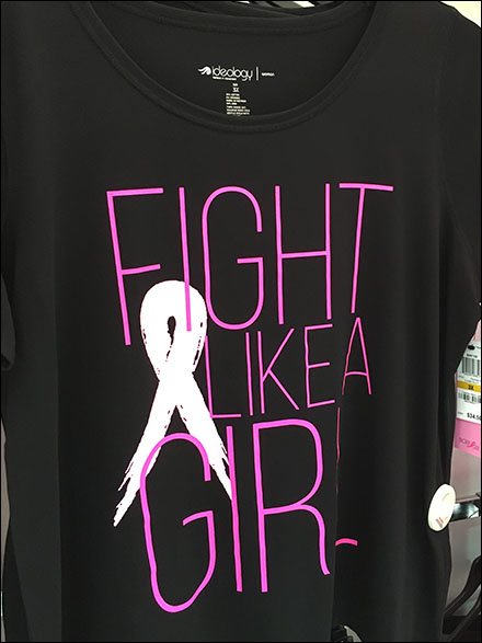Fight Like A Girl T-Shirt Merchandising 2