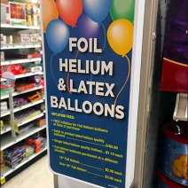 Foil Helium and Latex Balloon Sales 3