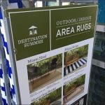 Indoor Outdoor Rug Rack Square Aux