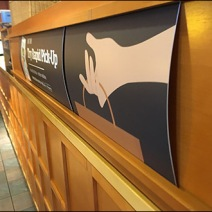 Panera Bread Rapid Pick-Up C-Channel Sign 3