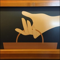 Panera Bread Rapid Pick-Up C-Channel Sign Feature