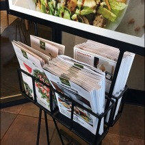 Panera Rapid Pickup Menu Catering Entry Sign 3