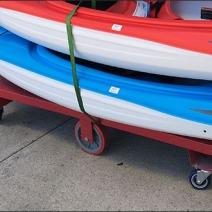 Pelican Kayak Cart 3