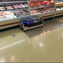 Pepsi Floor Creeper Display 1