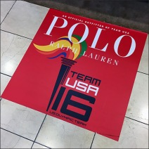 Polo Ralph Lauren US Olympic Team Floor Graphic Feature
