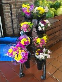Wegmans Floral Quiver Cart 2
